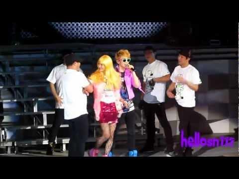 110820 SHINee Key Solo ft. Taemin - My First Kiss@SHINee 1st concert in Nanjing