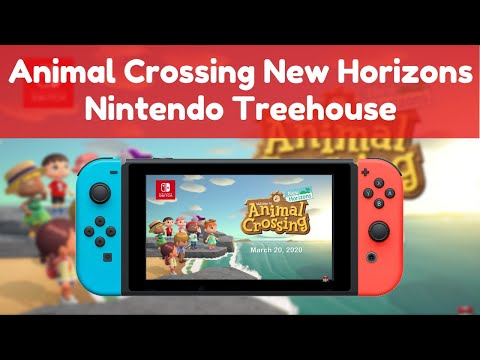 Animal Crossing New Horizons | Nintendo Treehouse Reaction