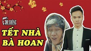 Diễn Viên Hậu Zozo ' Tết Nhà Bà Hoan - Vanh Leg' Cắt Tóc Tại 30Shine | 30ShineTV Đặc Biệt