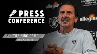 Coach Olson Details Competition on Offense, Breaks Down Lynn Bowden Jr. | Las Vegas Raiders