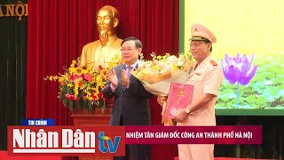 Công bố Quyết định bổ nhiệm Giám đốc Công an TP Hà Nội