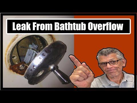 Leak From Bathtub Overflow
