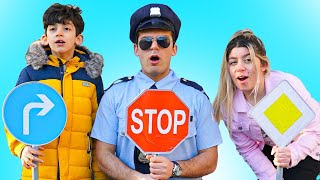 Jason Learn No Speeding and Safety with Traffic Signs