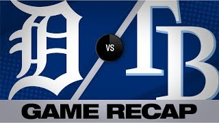 Brosseau walks it off in 13-inning shutout | Tigers-Rays Game Highlights 8/17/19
