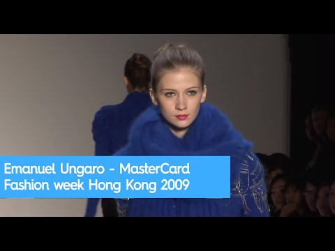 Emanuel Ungaro - MasterCard Fashion week Hong Kong 2009