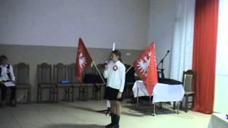 Obchody 94 rocznicy Powstania Wielkopolskiego w Gminie Wągrowiec.Łekno - Plac Powstańców Wielkopolski