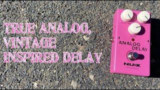 Nux Reissue Series Analog Delay - Demo