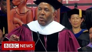 Robert F. Smith: US billionaire clears 400 student loans - BBC News