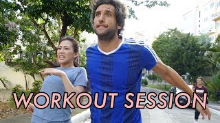 Workout with Bolzico by Alex Gonzaga