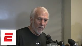 Popovich on Kawhi trade to Raptors: 'It's time to move on' | ESPN