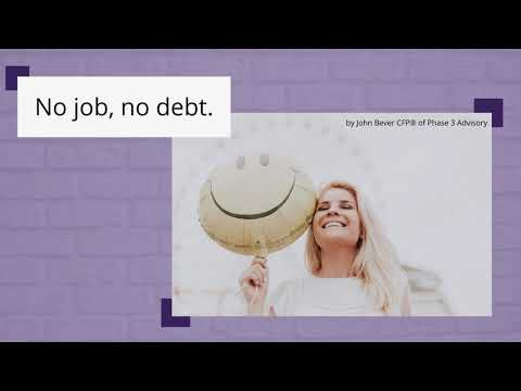 Don't make that next credit card overpayment if you're unemployed! | Face Your Job Loss Head-On