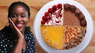 Making A 4-Flavor Cheesecake: Behind Tasty