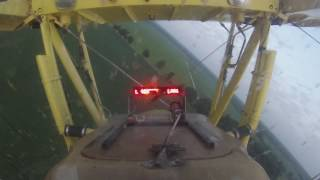 Crop Dusting Cockpit View With Lightbar