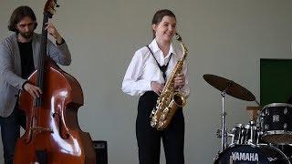 """""""The Days of Wine and Roses"""" - Henry Mancini / Saxophone / Jazz саксофонистка"""
