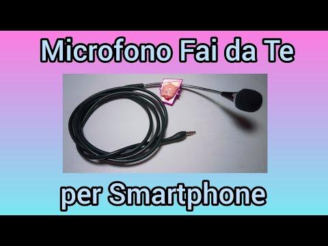 Come migliorare l'audio dei video su smartphone con un microfono esterno Lavalier autocostruito