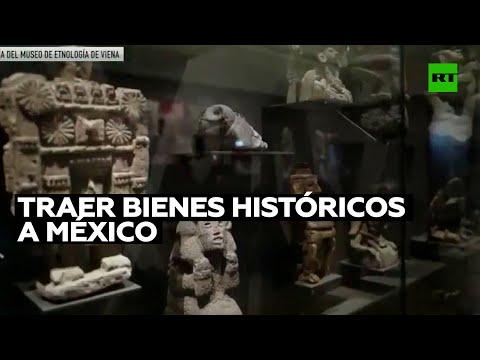 Entra en vigor un decreto de México para recuperar bienes históricos