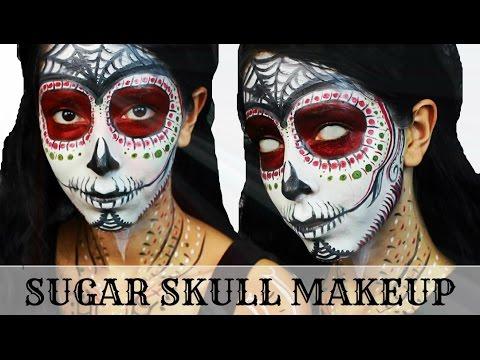 Baixar Day of the Dead Sugar Skull Halloween Makeup Tutorial