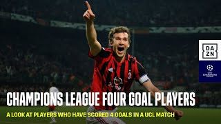 Champions League Four Goal Players (UEFA Champions League)