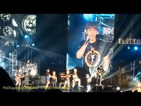 FNC Kingdom Day 2 - FTISLAND - Ending Collaboration Stage / Flower Rock - 17 May 2015