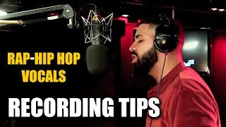 Best Tips for Recording Rap - Hip Hop Vocals [ How to Record a Song Tutorial ]