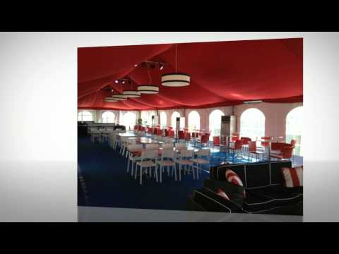 Washington Nationals PNC Diamond Club Tent Cooling