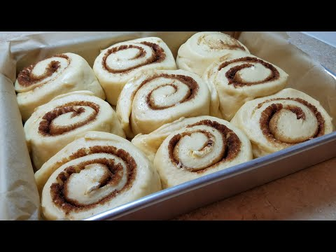 HOMEMADE CINNAMON ROLLS | Fluffy Soft Cinnamon Rolls | Bakery Style Cinnamon Rolls
