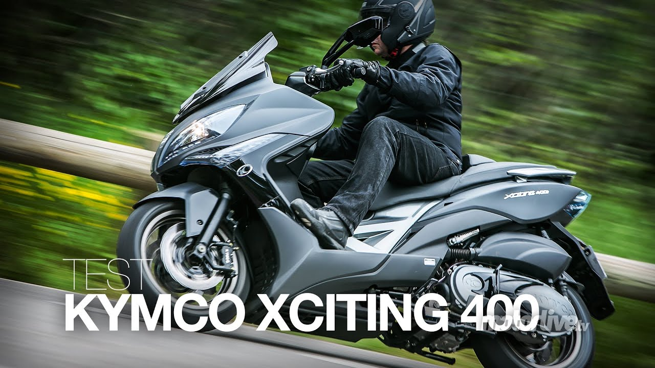 test kymco xciting 400i un tmax made in ta wan youtube. Black Bedroom Furniture Sets. Home Design Ideas