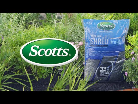 Dress Up Your Landscape with Scotts® Nature Scapes® Triple Shred Mulch
