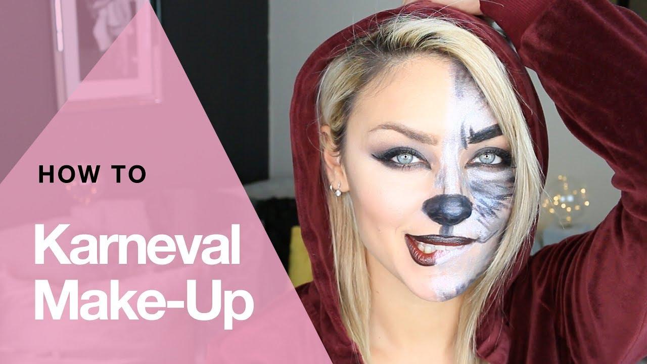 Karnevals Look - Rotkäppchen Make Up