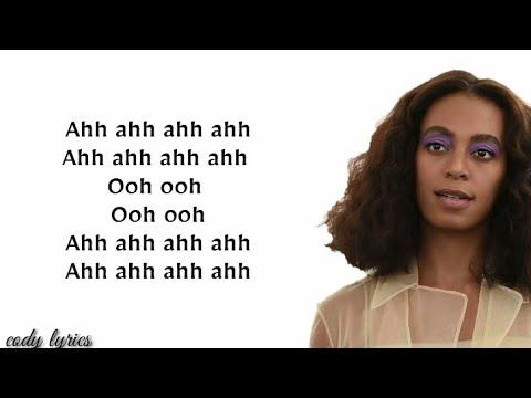 Solange - Binz (Lyrics Video)