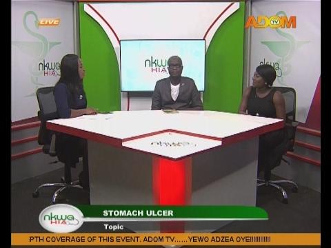 Stomach Ulcer - Nkwa Hia on Adom TV (20-2-17)