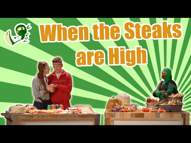 When the Steaks are High: It's Time to Go Green