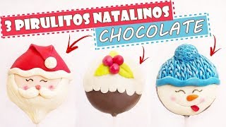 3 PIRULITOS NATALINOS DE CHOCOLATE - ESPECIAL DE NATAL - Tiago Mauro
