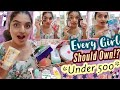 Things Every Girl Should Own*UNDER 500*!?|Body Hygiene,Deodorant,Skin Care,Body Care,Hair Care&More|