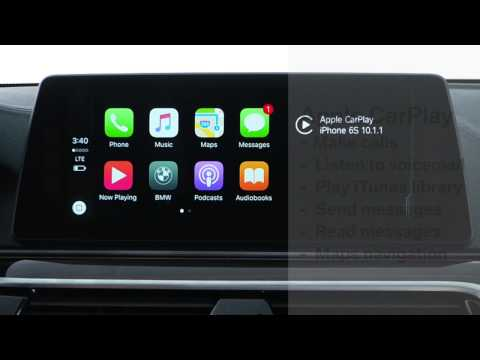 Getting Started Using Apple CarPlay In Your BMW