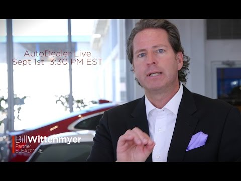 Bill Wittenmyer Auto Dealer Live Promo