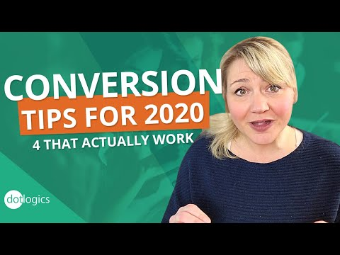 4 Ways to Increase Conversion in 2020