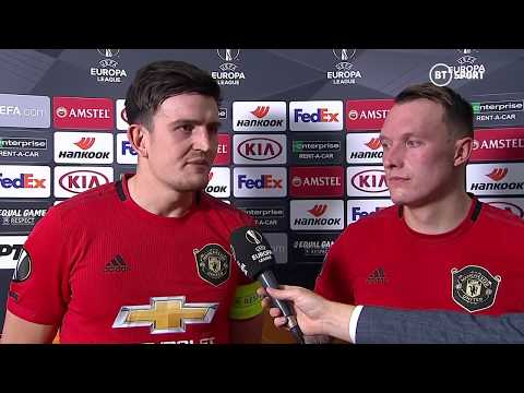 """Harry Maguire: """"It was an honour to be captain""""   Partizan 0-1 Man Utd"""