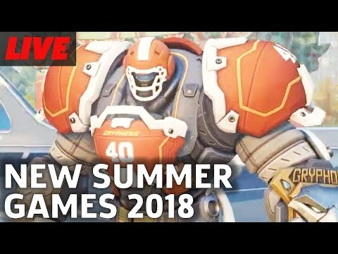 Overwatch Summer Games 2018 Gameplay and Lootbox Opening