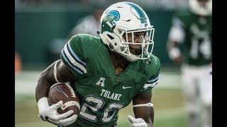 Football Highlights - Tulane 43, Grambling State 14