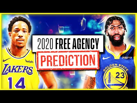 NBA Free Agency 2020 Predictions - Top 15 Free Agent Signings This Offseason