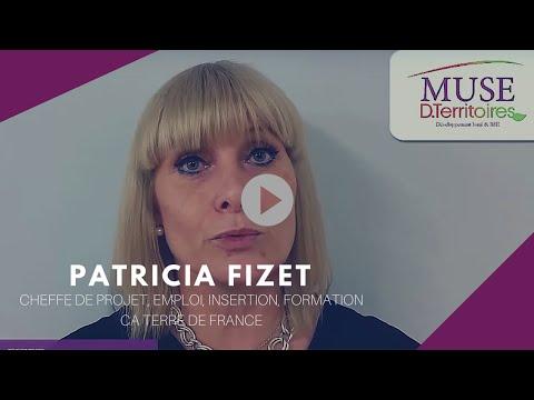 Patricia FIZET, cheffe de projet, emploi, insertion, formation, CA Terre de France
