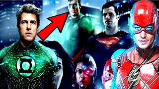 Tom Cruise Is The Next Green Lantern REVEALED?! The Flash MAJOR Movie NEWS