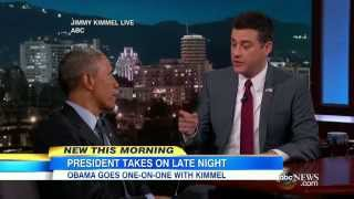 President Obama: Mean Tweets on '