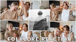 ALBUM REACTION : Folklore - Taylor Swift