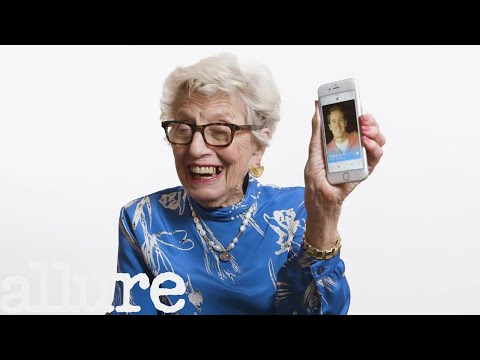 100-Year-Olds Try Tinder | Allure