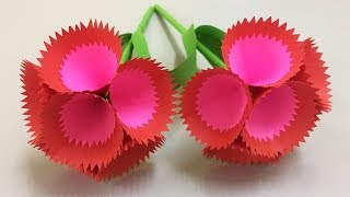 How to Make Beautiful Flower with Paper - Making Paper Flowers Step by Step - DIY Paper Flowers #9