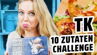 10 Zutaten Challenge I Tiefkühlkost!