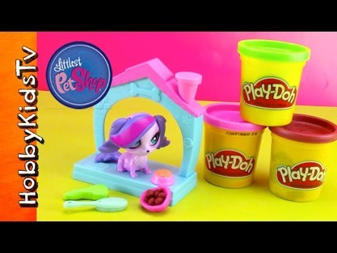 How To Make Lps Play Doh Food