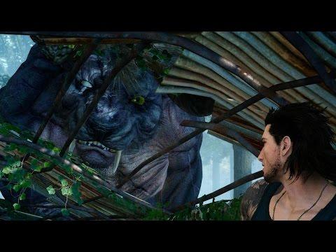Stalking and Taking On Final Fantasy XV's Mighty Behemoth